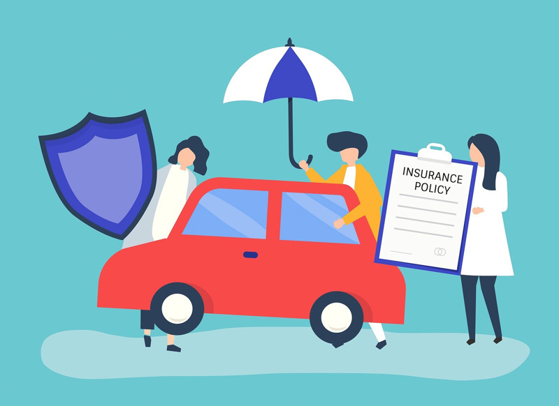 Types of car rental insurance